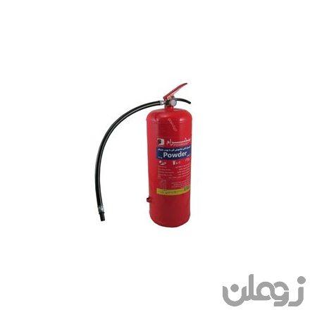 کپسول آتش نشانی پودری ( پودر و گاز ) 12 کیلویی