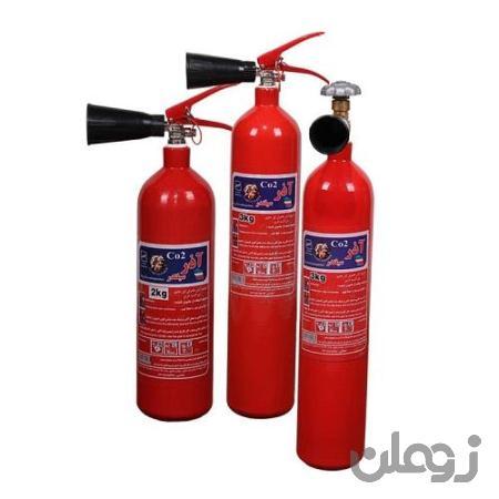کپسول آتش نشانی خاموش کننده co2 سه کیلویی