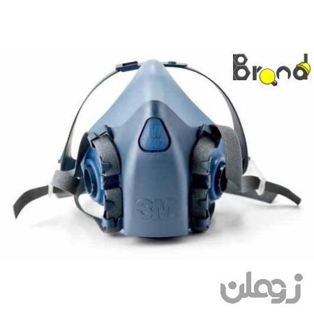 پایه ماسک تنفسی نیم صورت دو فیلتر ۳M-7502