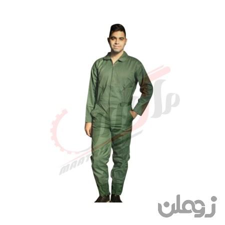 لباس کار یکسره سبز خلبانی