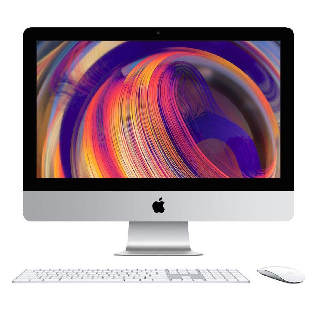 کامپیوتر همه کاره 21.5 اینچی اپل مدل iMac MRT42 2019