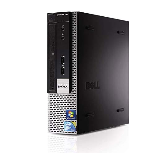 Dell Optiplex (Intel Core 2 Duo 2.93GHz ، حافظه 4 گیگابایتی ، 250 گیگابایت HDD ، DVDRW ، ویندوز 7 پرو 64bit ، صفحه کلید و ماوس w / USB) (تمدید)