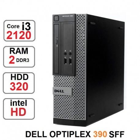 مینی کیس Core i3-2120 مدل Dell Optiplex 390
