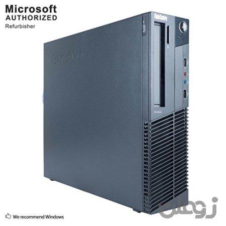 Lenovo ThinkCentre M78 Small Form Factor PC ، AMD Core A6-5400B تا 3.8GHz ، 16G DDR3، 500G، WiFi، Bluetooth 4.0، DVD، Windows 10 64-پشتیبانی چند زبانه انگلیسی / اسپانیایی / فرانسوی (تجدید شده)