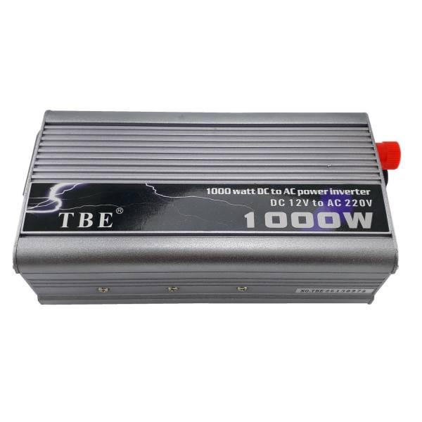 اینورتر مبدل برق خودرو سوئیچینگ 12V 1000W مارک TBE