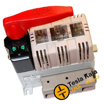 کلید فیوز گردان 400 آمپر پیچاز الکتریک PICHAZ مدل IDS401
