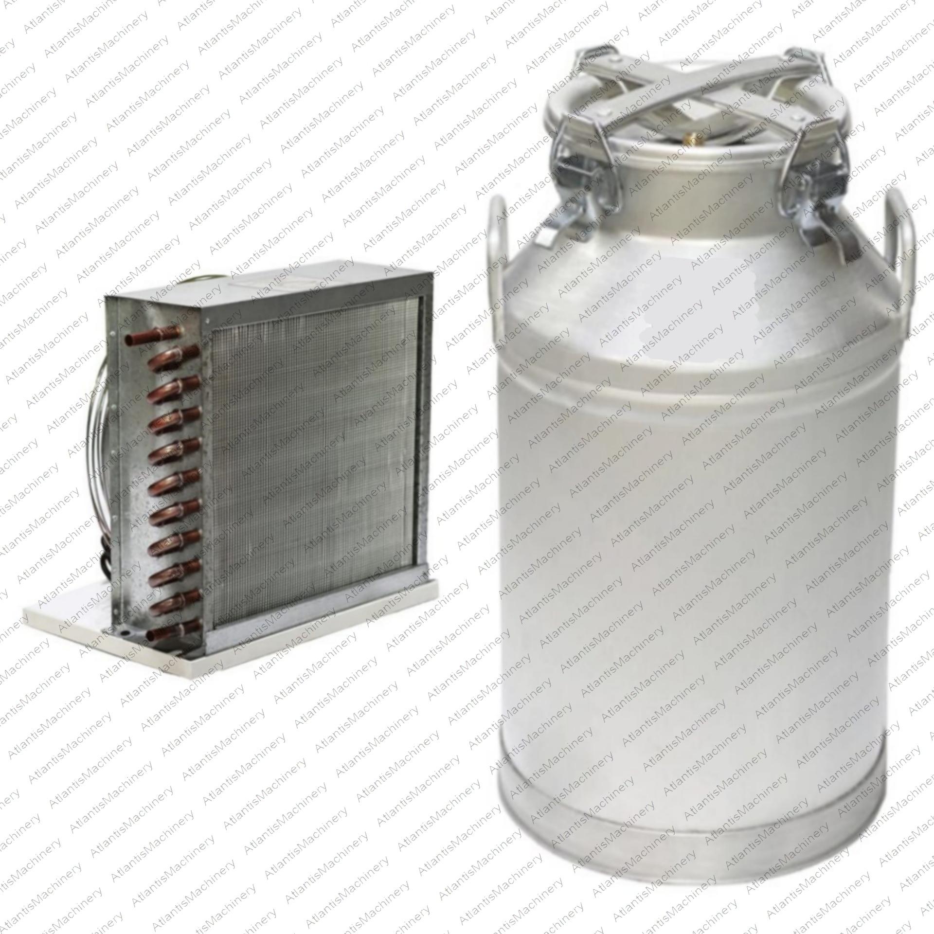 دستگاه تقطیر(عرق گیر/گلاب گیر) 50 لیتری با کندانسور(خنک کننده) برقی مسی