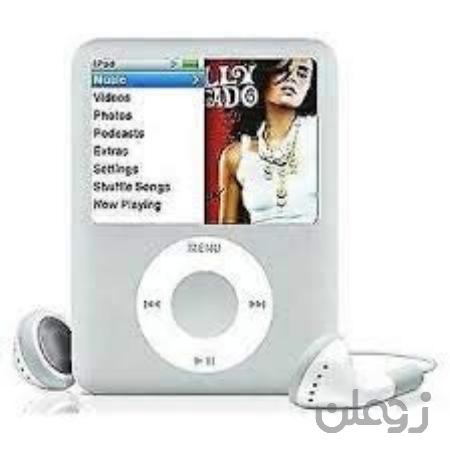 M-Player iPod Nano 4GB Silver 3rd نسل (بسته بندی شده در جعبه سفید با لوازم جانبی عمومی)…