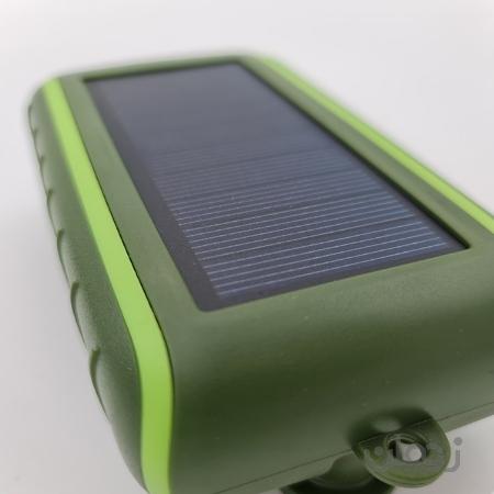 پاوربانک خورشیدی Hand Crank solar Power Bank
