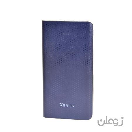 پاور بانک وریتی (Verity) مدل V-PR80B ظرفیت 10000 میلی آمپر ساعت