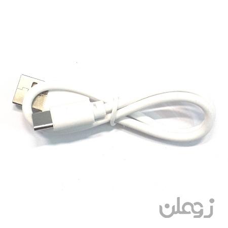 کابل شارژ پاوربانکی تایپ سی کد 113