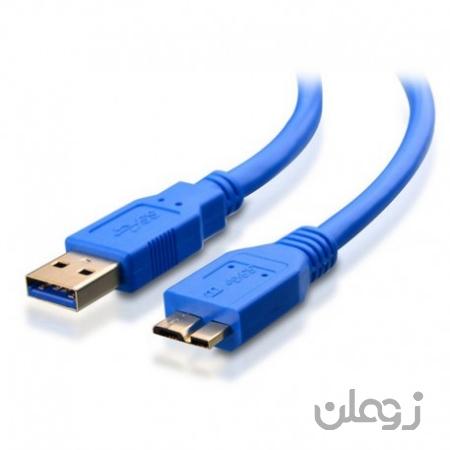کابل میکرو USB3.0 هارداکسترنال 30 سانت