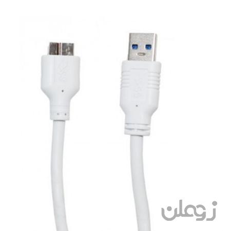 کابل هارد 60 سانتی متری USB 3.0 ونوس he60 am to micro b