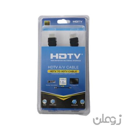 کابل HTMI مدل HDTV طول 1.8 متر