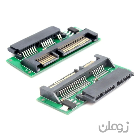 مبدل تبدیل کابل Micro Sata mSATA SSD به کابل ۲٫۵ Sata هارد دیسک