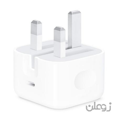 شارژر اورجینال 20 وات USB-C اپل مناسب آیفون سری 11 و12