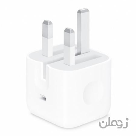 شارژر 18 وات اصلی اپل Apple 18W 3pin Power Adapter
