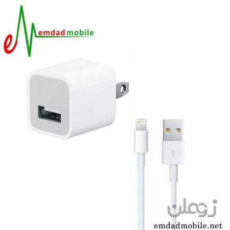 شارژر، کابل شارژ و آداپتور اصلی آیفون iPhone 7 Plus