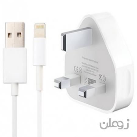 شارژر اصلی آیفون همراه کابل Apple iphone Charger