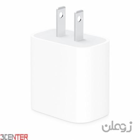 شارژر صد در صد اورجینال اپل آیفون Apple iPhone 18W USB-C Power Adapter