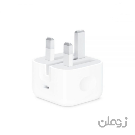 شارژر 20 وات USB-C اپل مناسب آیفون سری 11 و 12
