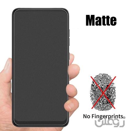 گلس محافظ صفحه نمایش سرامیکی مات شیائومی Redmi Note 6 Pro