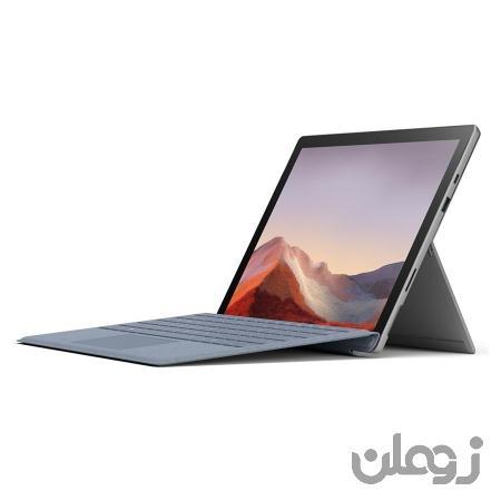 تبلت مایکروسافت مدل Surface Pro 7 Plus پردازنده Core i7 حافظه 1 ترابایت با کیبورد سیگنیچر