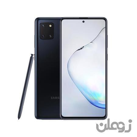 گوشی سامسونگ مدل Galaxy Note10 lite 1288 GB مشکی