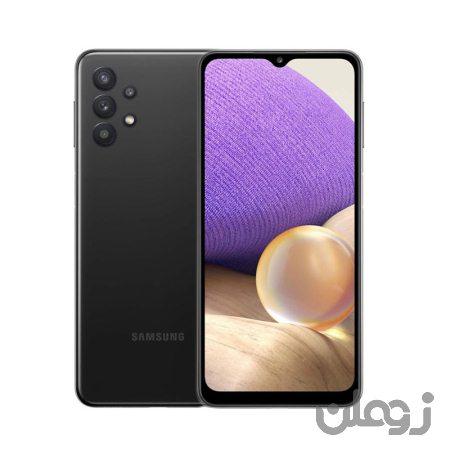 تلفن همراه سامسونگ  A32 SM دو سیم کارت ظرفیت 128 گیگابایت مشکی - Samsung Galaxy A32 SM-A325F/DN Dual SIM 128GB Mobile Phone Black