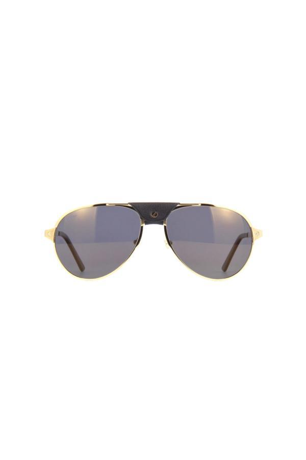 عینک آفتابی مردانه سال ۹۹ Cartier رنگ نقره ای کد ty67987604